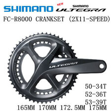 SHIMANO ULTEGRA FC R8000 Crankset 50-34T 52-36T 53-39T 165MM 170MM 172.5MM 175MM