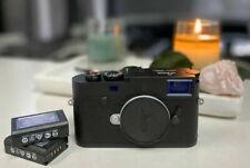 Leica M10-P 24MP Digital Rangefinder Camera - Black Chrome