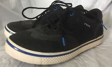 Crocs Preston Golf Shoes Men's Size 8 Leather Dark Navy Blue
