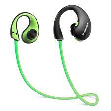 Écouteurs Bluetooth Sport Intra-auriculaires Sans fil IP66 LED avec Microphone