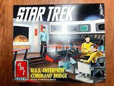 AMT ERTL 6007 STAR TREK USS ENTERPRISE COMMAND BRIDGE