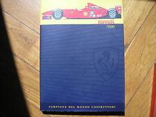 FERRARI LA OFICIAL MAGAZINE ANUARIO 1999 WORLD CHAMPION F1 ANUARIO OFICIAL