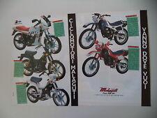advertising Pubblicità 1985 MALAGUTI RGT 50/FIFTY FULL CX/TOP/ENDURO MDX/MFX