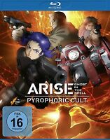 GHOST IN THE SHELL - ARISE: PYROPHORIC CULT BD   BLU-RAY NEU