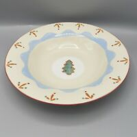 """Hartstone Confections Pasta Bowl Christmas Tree Cookie Serving 12"""" Vegetable USA"""
