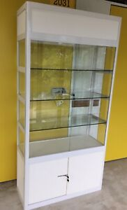 Foldable Upright Glass Cabinet For Display, Showcase, Exhibition etc