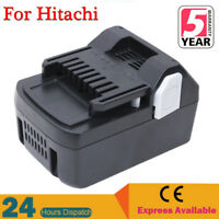 18 Volt Li-ion 4.0Ah Replace Battery for HITACHI BSL1830C BSL1830 BSL1815X BSL18