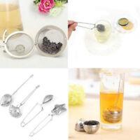 Stainless Steel Mesh Spice Tea Infuser Ball Shape Tea Strainer Filter Reusable