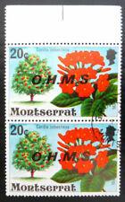 Flowers Montserratian Stamps
