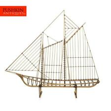 More details for stunning 20thc brass galleon ship by curtis freiler & jerry fels c.1970