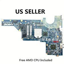 "638856-001 AMD Motherboard HP Pavilion G4 G6 G7 Laptop,free AMD CPU,US Loc ""A"""