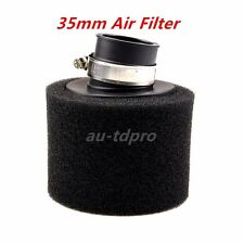 35mm Bent Neck Black Foam Air Filter Pod For 50 90 110 125cc ATV Quad Dirt Bike