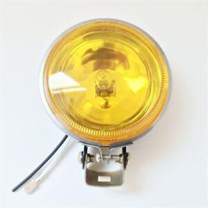 3'' 12V 55W Yellow DRL Round Car Driving Fog Lamp Work Light Anti-fog Glass