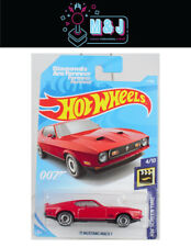 Hot Wheels '71 Mustang Mach 1 Diamonds Are Forever 007 2/250 (Aussie Seller)