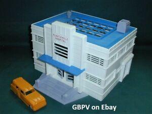 GBPV - FOR THE LAYOUT UNGLUED PLASTICVILLE HOSPITAL BUILDING ONLY + ORANGE AMB