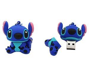 Pendrive Pen Drive USB Clé (Capacidad 64GB) Lilo & Stitch