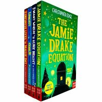 Christopher Edge 4 Books Collection Set Jamie Drake, Longest Night Paperback NEW