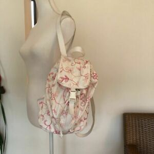 LeSportsac nylon backpack  diback cord embroidery is cute beauty goods