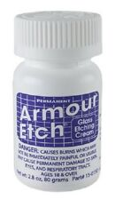 """Armour Etch Glass Etching Cream ~ 2.8oz jar """"SHIPS TODAY"""""""