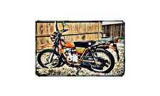 Ct125E Motorbike A4 photo Retro Bike