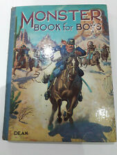 Monster Book For Boys Vintage Story Book 1940s