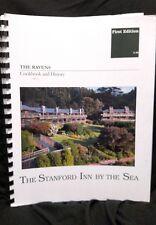 Ravens Cookbook and History Stanford Inn by the Sea VEGAN Green Stanford OOP