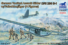 Bronco 1/35 35039 German Tactical Assault Glider DFS 230 B-1 w/Fallschirmjäger