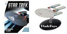 Eaglemoss Star Trek USS Princeton Niagara Class starship #126 w/Magazine