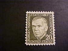 Scott # 1289 G.C. Marshall Unused OGNH