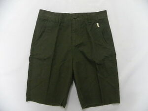 "O'Neill O'riginals Boys Tyler Olive Green 18"" Casual Chino Shorts Sz 26"