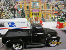 "Train Garden House Village "" 1953 Black Chevy Pick-Up "" +Dept 56/Lemax Info!"