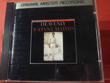 """MFSL MFCD-825 JOHNNY MATHIS """" HEAVENLY """" (JAPAN-COMPACT DISC/NEW = MINT)"""