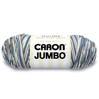 Caron Jumbo Yarn Big Ball Country Basket 12 oz. Acrylic Medium Worsted Easy Care