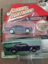 Johnny Lightning 1970 Dodge Super Bee with Storage Tin Pro Collector Series