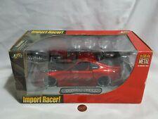 NEW (Read) Red Toyota Supra Jada Toys Import Racer 1:24 Car SEALED VeilSide