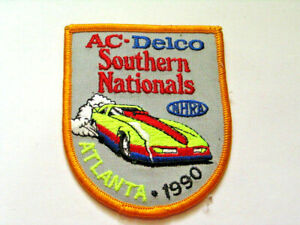 AC Delco Racing Southern Nationals  Patch  1990 Atlanta NHRA Race
