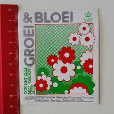 Aufkleber/Sticker: Groei & Bloei - Doe Het Zelf Met Groen Lees (22021789)