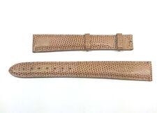 19mm Brown Lizard Cartier Band