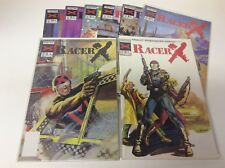 RACER X #2-10 (NOW COMICS/VOL2/SPEED RACER/0618434) NEAR COMPLETE SET LOT OF 8