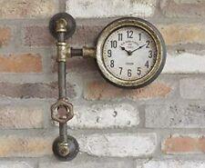 Dutch Imports Garden Sculptures & Ornaments Vintage Industrial Pipe Clock - 5592