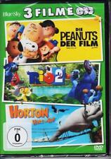 Peanuts der Film / Rio 2 / Horton hört ein Hu! DVD NEU + OVP