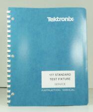Original Tektronix 177 Standard Test Fixture Instruction Manual 070-1472-00