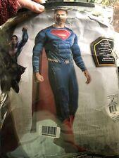 Superman Costume Adult Man of Steel Halloween Fancy Dress