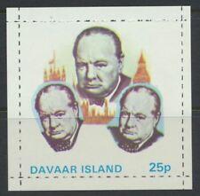 Great Britain Davaar Island Winston Churchill MNH