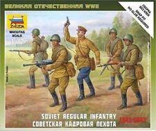 7404 SOVIET MOTORIZED INFANTRY - ZVEZDA 1/72 20MM - WW2 BATTLEGROUP - 1ST CLASS