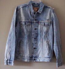 Levi's Men's Buckman Destructed Trucker Denim Jacket Size L