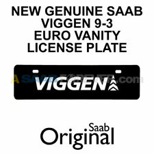 Saab Viggen Vanity Plate OEM 0284877
