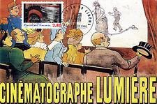 CINEMATOGRAPHE FRERES LUMIERE Le siècle du cinéma CARTE MAXIMUM Karte Card PHOTO
