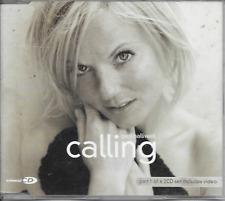 GERI HALLIWELL - Calling CDM 3TR Enhanced (CD1) UK 2001 (SPICE GIRLS)
