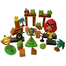Angry Birds 40 Piece Lot Replacement Game Part Pigs Launcher Terrence Chuck Bomb